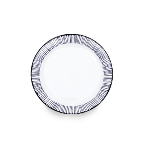 """레트로블루 10"""" 접시 1P"""